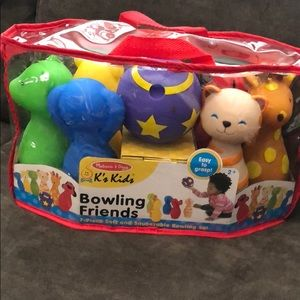 Melissa and Doug bowling set